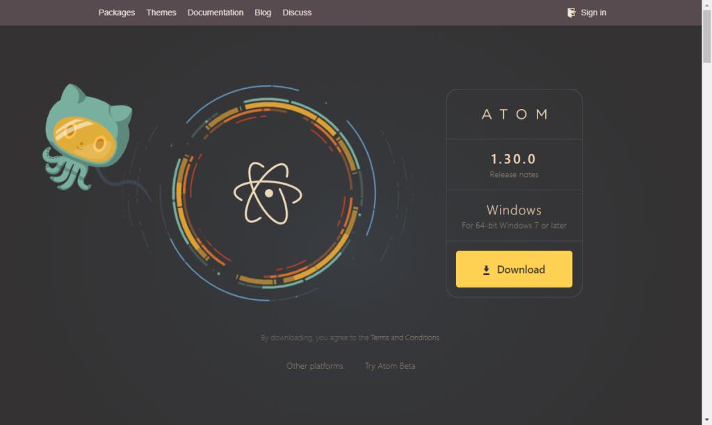 Atom 公式HP